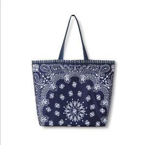 Levi's blue reusable tote bag